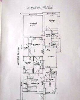 ELADÓ Mezőkövesden 4 szobás, kocka típusú családi ház.