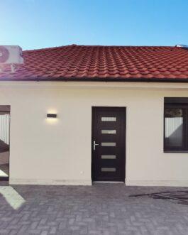 Mezőkövesden eladó új építésű 80m2-es, 2 szobás+ nagy nappalis családi ház.
