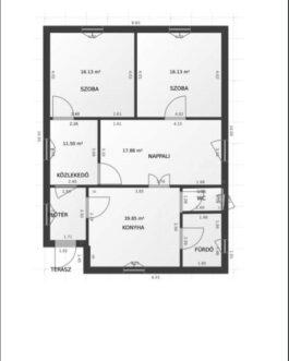Hevesen 3 szobás családi ház ELADÓ. Heves, Heves megye